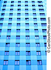 Windows of modern skyscraper - Lots windows of modern...