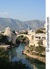 Stari Most, Mostar - This fabulous bridge was entirely...