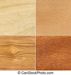 Set of wood textures