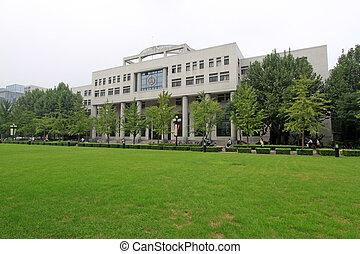 学校, 大学, 陶磁器,  tsinghua, 北京, 法律