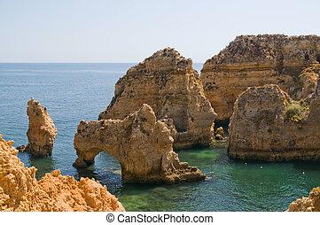 Ponta da Piedade - Portugal, Algarve, Lagos Ponta da Piedade...