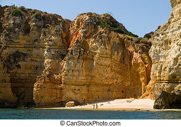 Ponta da Piedade - Portugal, Algarve, Lagos. Ponta da...