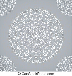 Ornamental Seamless Lace Background