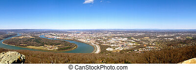 Chattanooga and Tennessee River