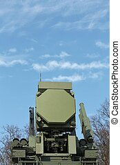 Weapons of anti-aircraft defense - Self propelled ground...