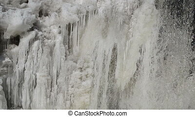 ice water flow winter