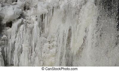 ice water flow winter