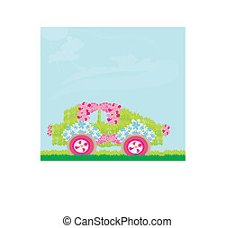 The ecological car from plants