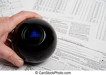 Filing Income Taxes - Using a magic ball to predict an incom...