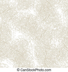 Seamless pattern with fingerprints