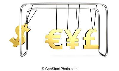 Money's cradle