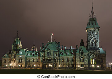 Houses of parliament, Ottawa Canada
