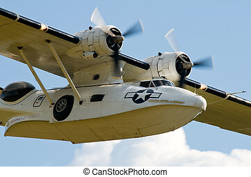 Consolidated PBY Catalina on the air show