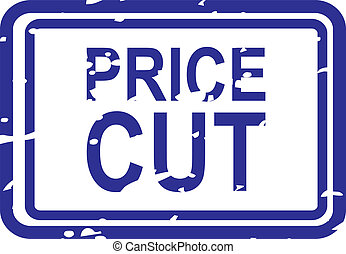 Price Cut Rubber Stamp
