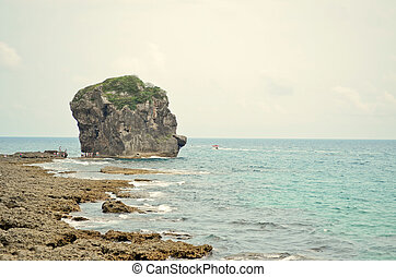 Kenting - Taiwan - Rock in the kenting national park