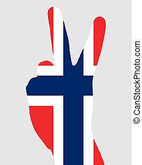 Norwegian finger signal