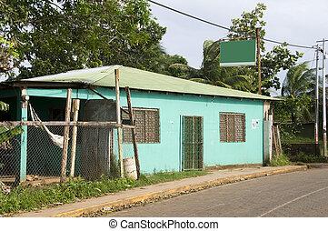 retail market brig bay corn island nicaragua - typical...
