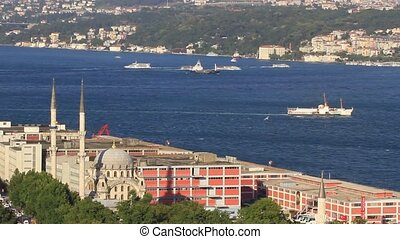 Bosphorus from Galata - Bosphorus view with Istanbul Modern...