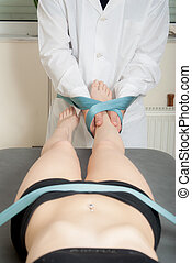 Manual, physio and therapy techniques performed - Manual,...