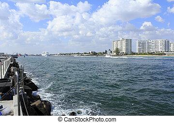Entry to Port Everglades