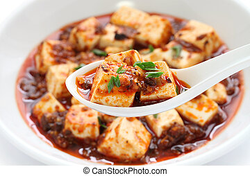 sichuan mapo tofu - chinese food