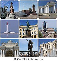 landmarks of Odessa