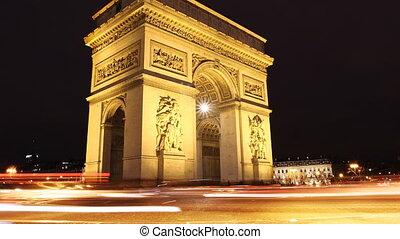 Triumph Arch, Paris.