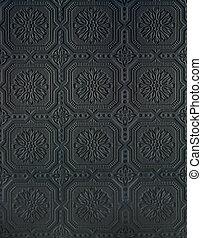 Tin wall Pattern black - Tin wall pattern black