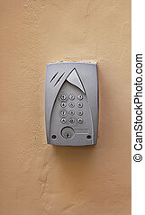 Intercom keypad - Intercom system with keypad and security...
