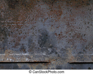 Rusty background - Metal grunge rusty background