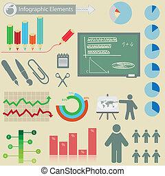 Infographics elements.