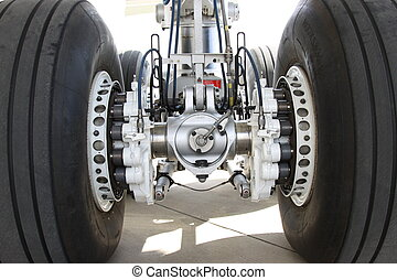 Landing Gear of an Airplane