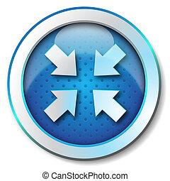Reduced arrow icon