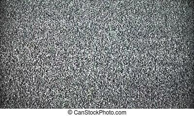 TV snow noise