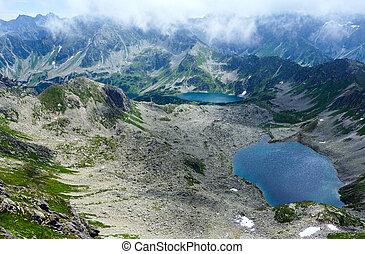 Summer Tatra Mountain, Poland - Tatra Mountain, Poland,...