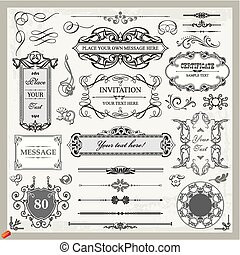 Ornamental Set A - labels