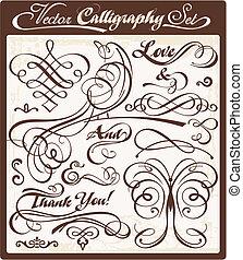 Vector Calligraphy 01 - vector calligraphy