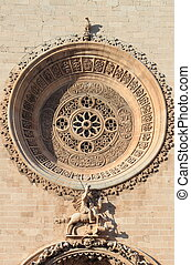 Basilica of St Francis of Assisi in Palma de Mallorca - Rose...