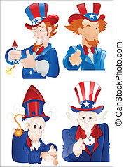 4th of July Uncle Sam Portraits