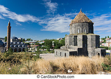 Armenian church - the Armenian church in Kars, Turkey