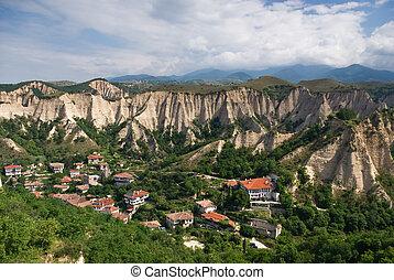 Melnik - Bulgaria - The medival village of Melnik. no`1 wine...