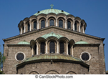 Big Curch - Sveta Nedelya Church in Sofia - Bulgaria