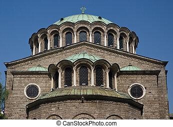 Big Curch - Sveta Nedelya Church in Sofia - Bulgaria