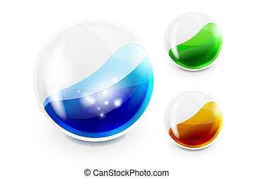 3d vector glossy arrow mouse pointer