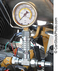 Manometer for pressure testing