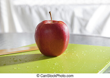 red apple for eating
