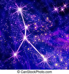 constelação, câncer