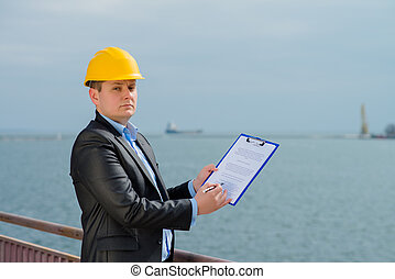 Port Engineer Supervision - inspector will record the port...