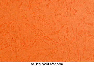 Paper orange background