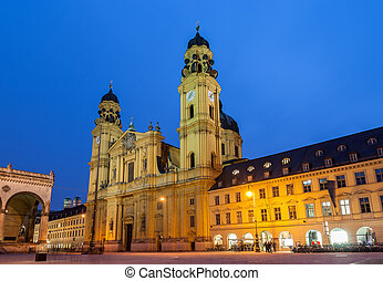 Theatine Church of St Cajetan in Munich - Germany